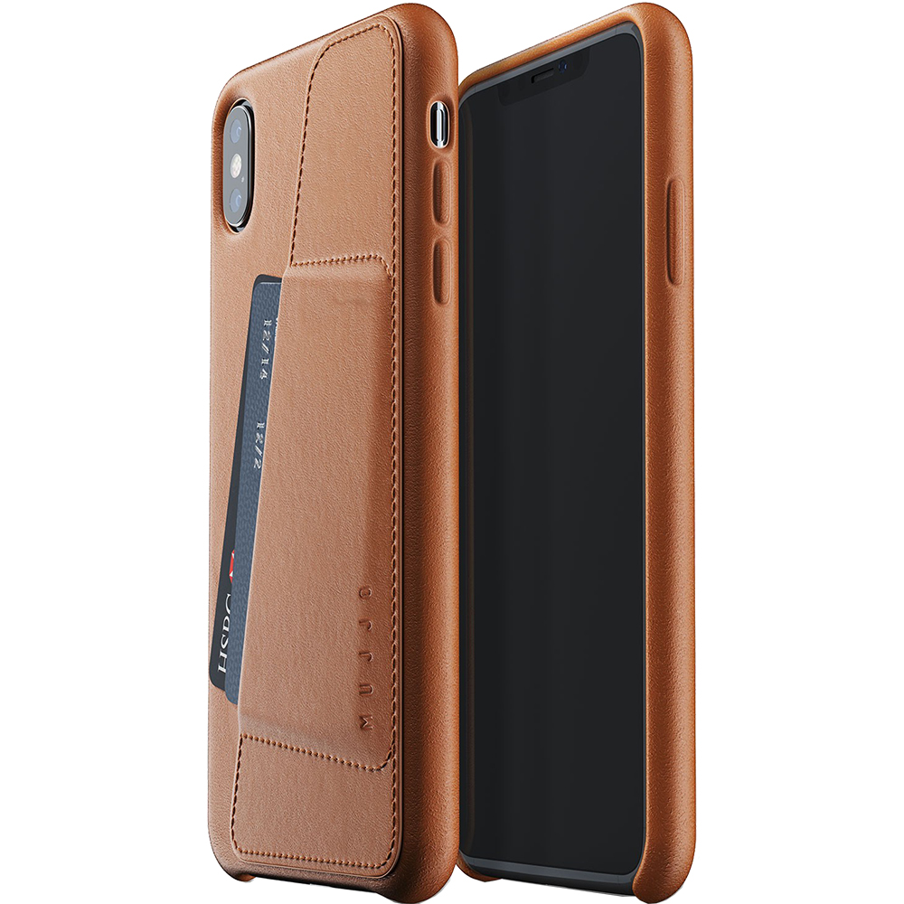 Husa Capac Spate Wallet Maro APPLE iPhone Xs Max