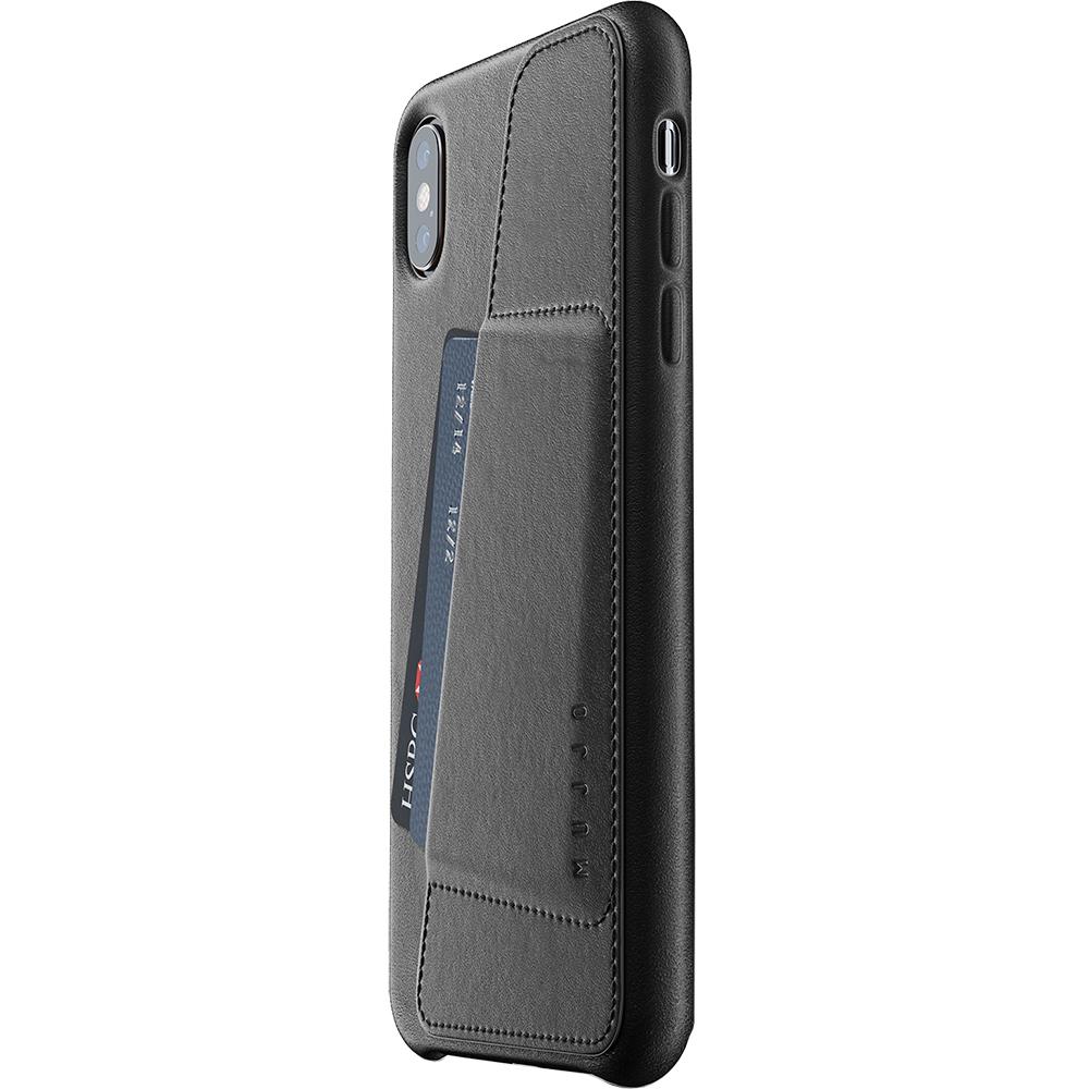 Husa Capac Spate Wallet Negru APPLE iPhone Xs Max