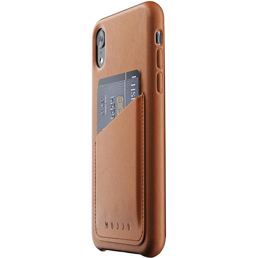 Husa Capac Spate Wallet Piele Maro APPLE iPhone XR