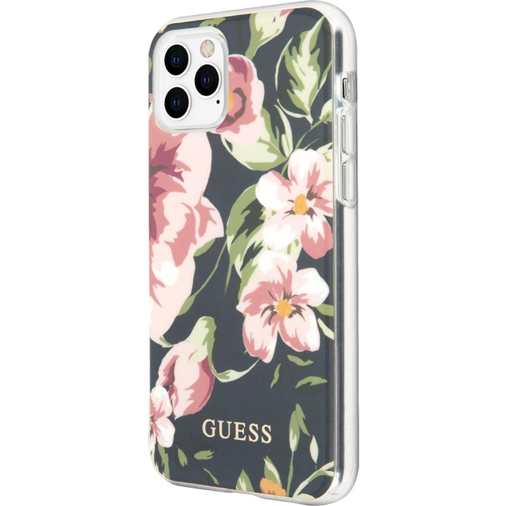 Husa Capac Spate Flower Collection Navy Albastru APPLE iPhone 11 Pro