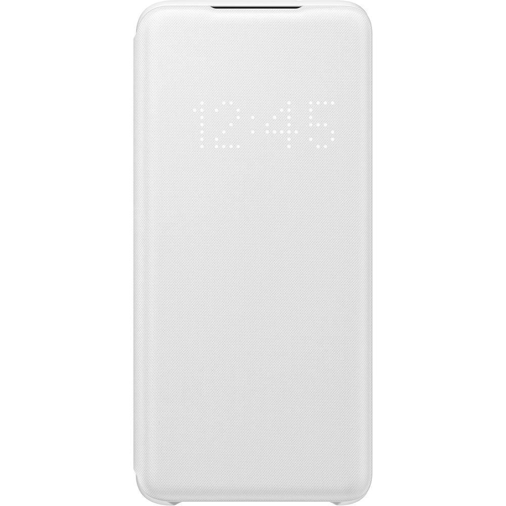Husa Agenda LED View Alb SAMSUNG Galaxy S20