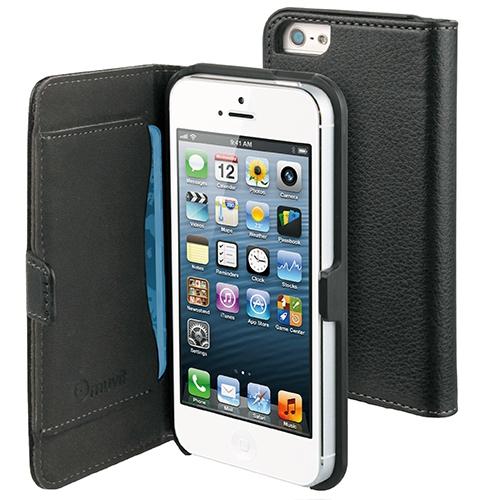 Husa Agenda Slim Negru APPLE iPhone 5s, iPhone SE