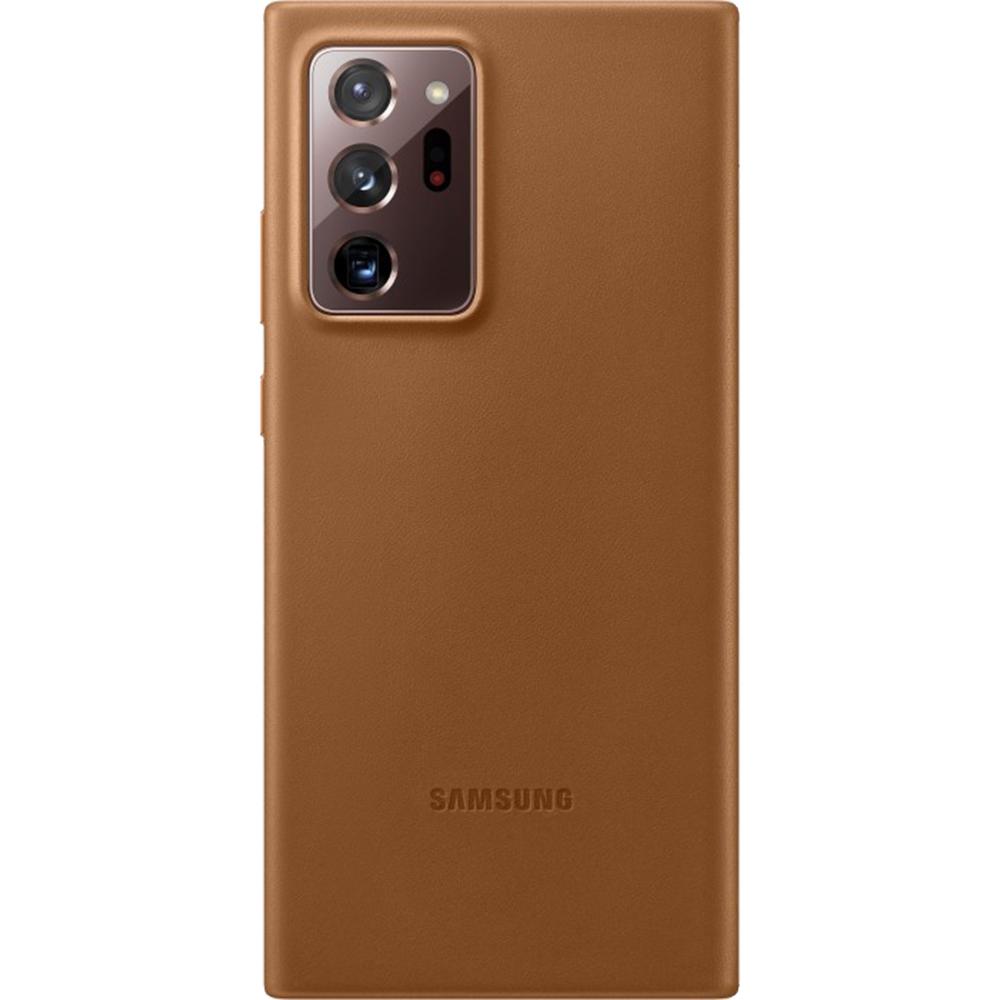 Husa Capac Spate Piele Maro SAMSUNG Galaxy Note 20 Ultra