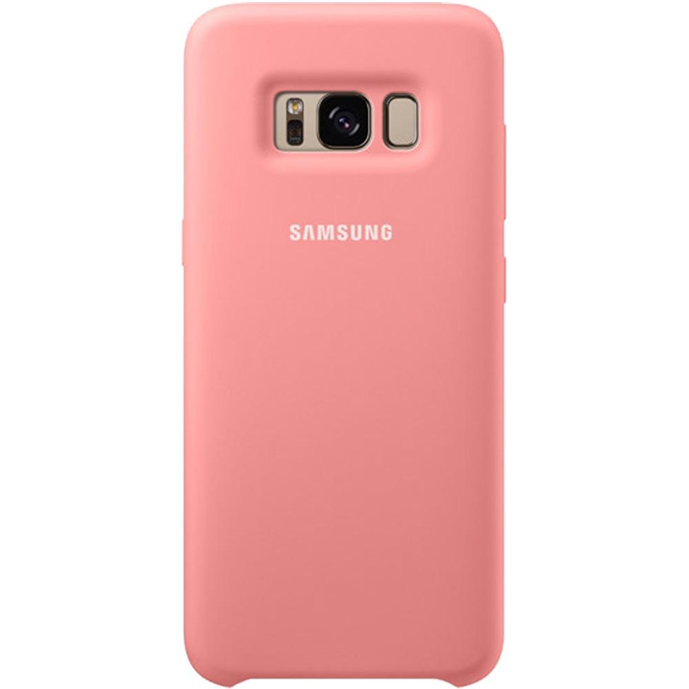 Husa Capac Spate Silicon Cover Roz SAMSUNG Galaxy S8 Plus