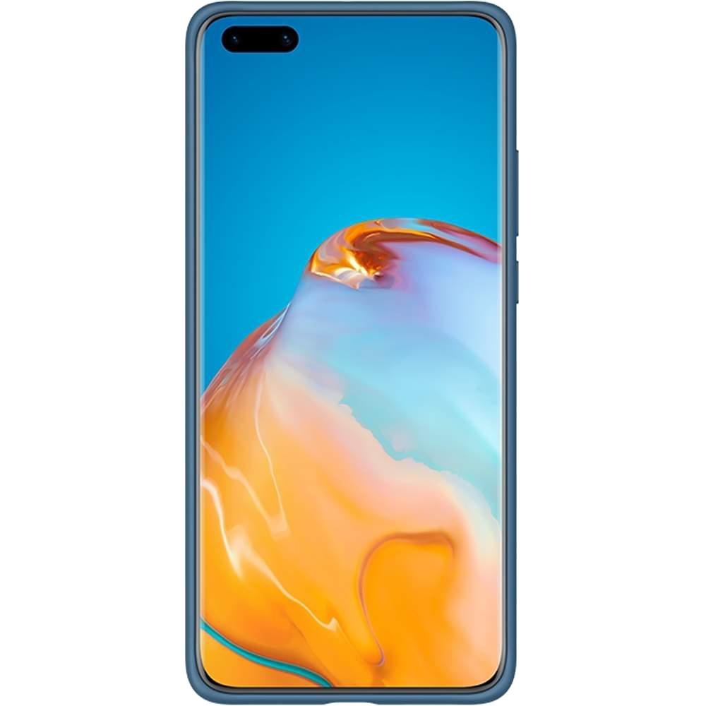 Husa Vennus Silicon Lite Albastru HUAWEI P40 Pro