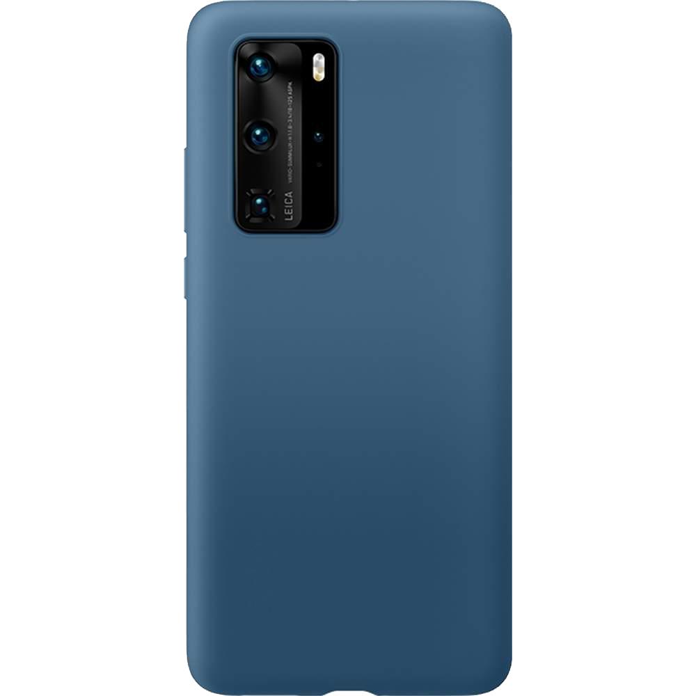 Husa Capac Spate Vennus Silicon Lite Albastru HUAWEI P40 Pro