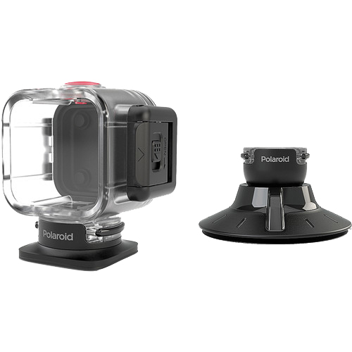 Husa Waterproof Cu Suport Suction Mount Negru