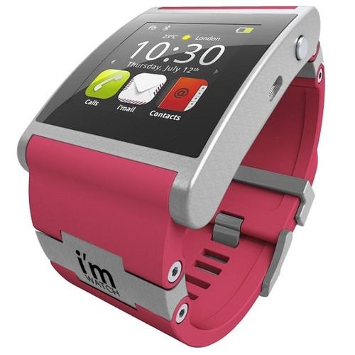 Smartwatch color roz
