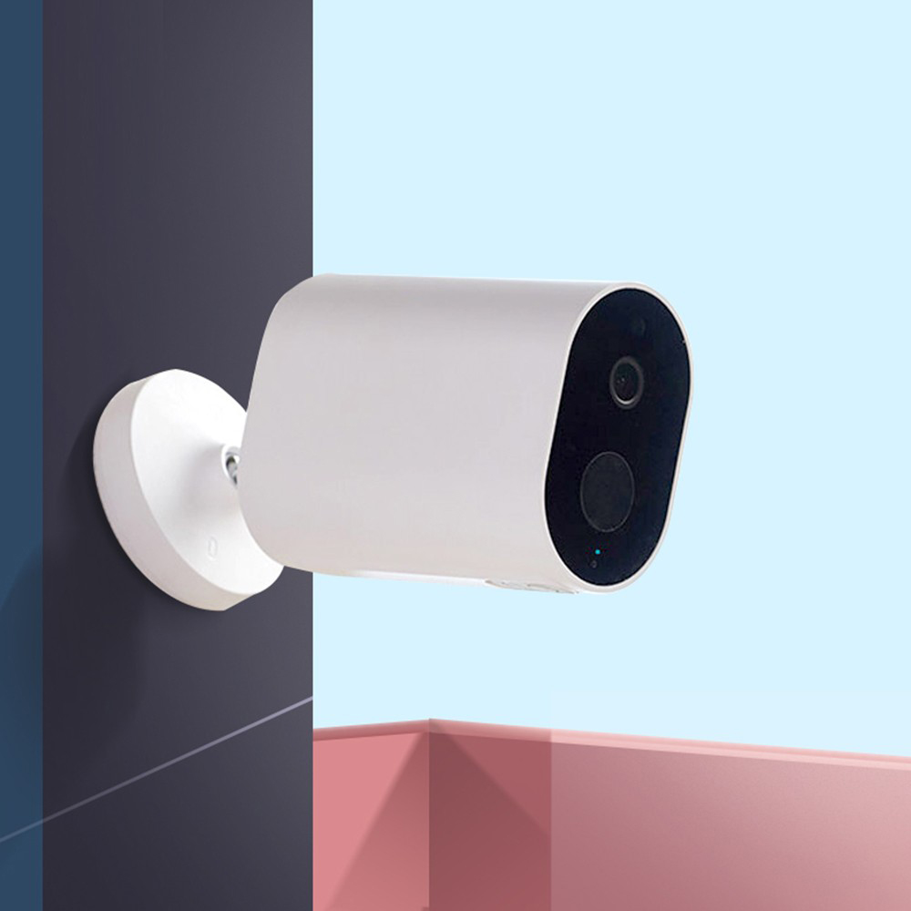 IMILAB EC2 Wireless Home Security Camera HD, PIR Detection, Battery Powered, Infrarosu, Stocare Cloud, IP66