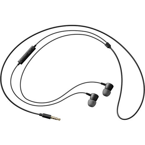 Casti Audio Cu Fir In Ear, Microfon, Buton Control, Mufa Jack 3,5 mm, Negru