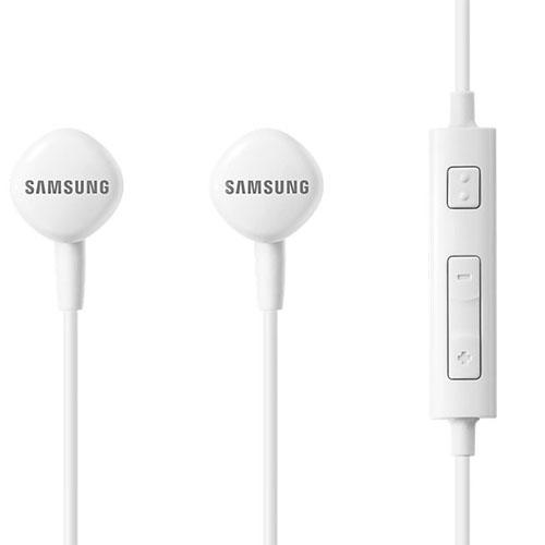 Casti Audio Cu Fir In Ear, Microfon, Buton Control, Mufa Jack 3,5 mm, Alb