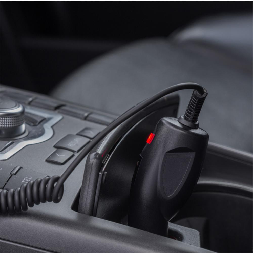 Incarcator Auto CP37, Super Charge, Dual USB  Negru