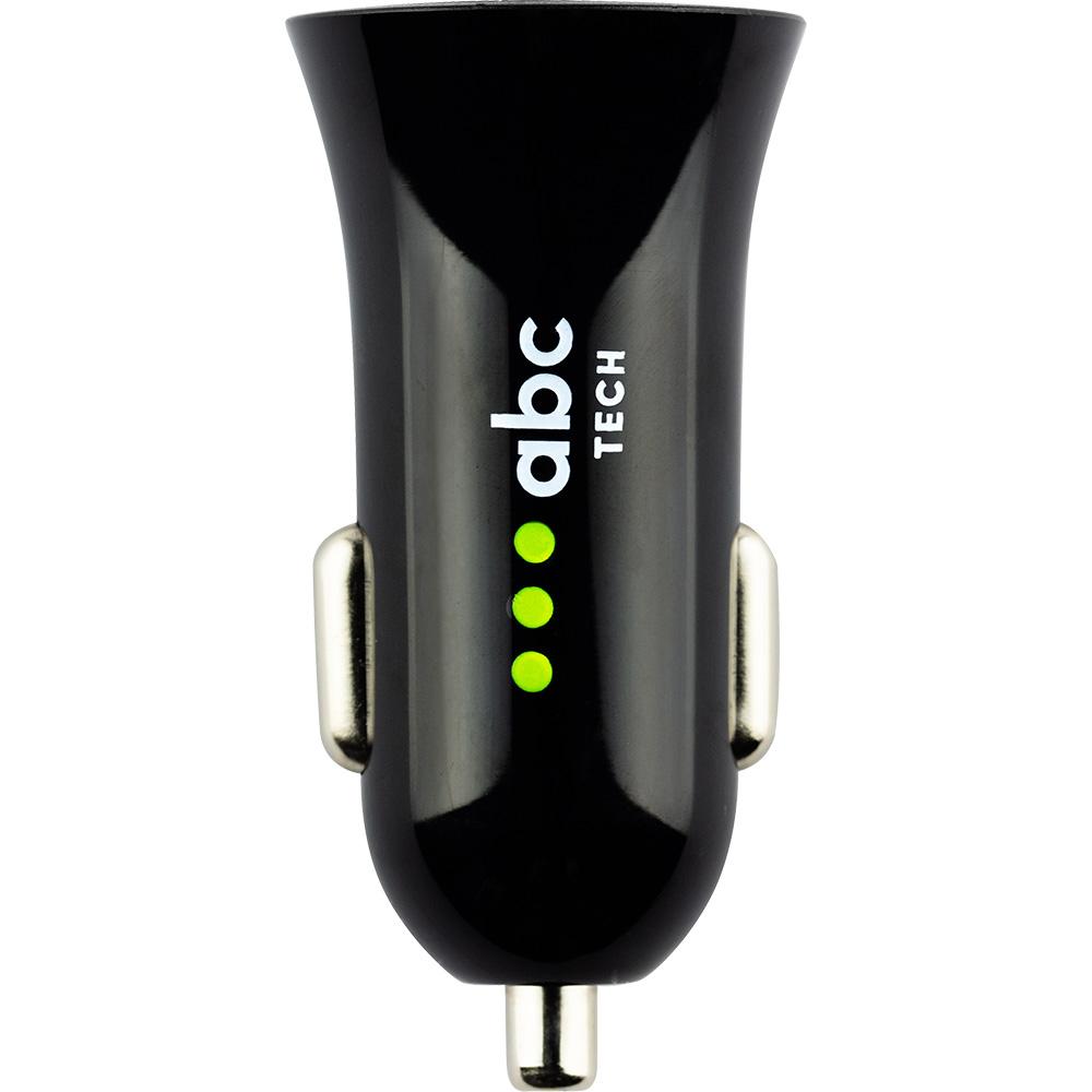 Incarcator Auto Cu Doua Porturi USB  Negru