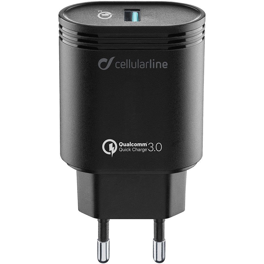 Incarcator Priza Fast Charge 3.0 USB, 18W, Incarcare Rapida Negru