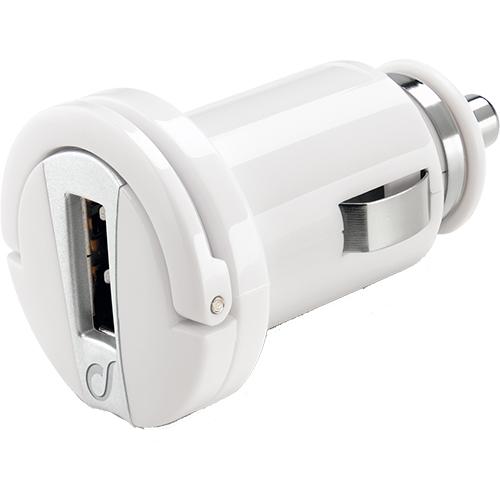Incarcator Auto USB ALB Alb