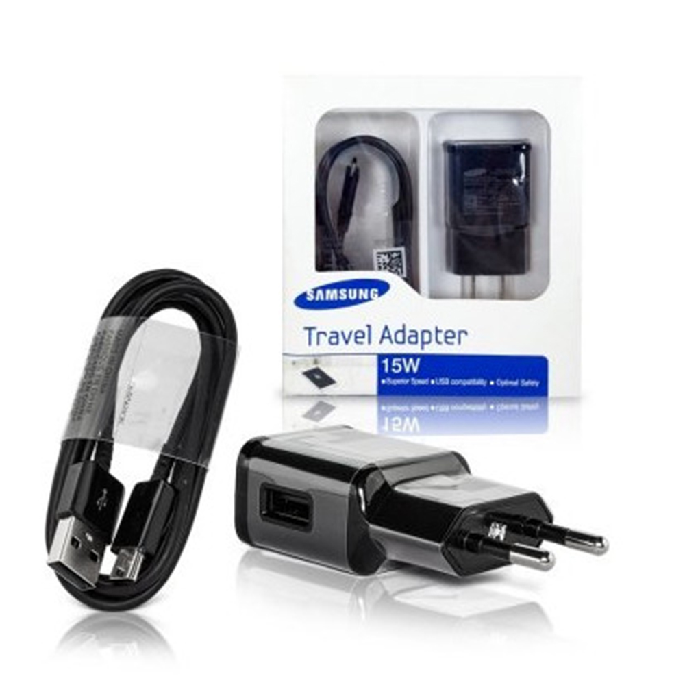 Incarcator Priza Fast Charging 15W Micro USB Negru