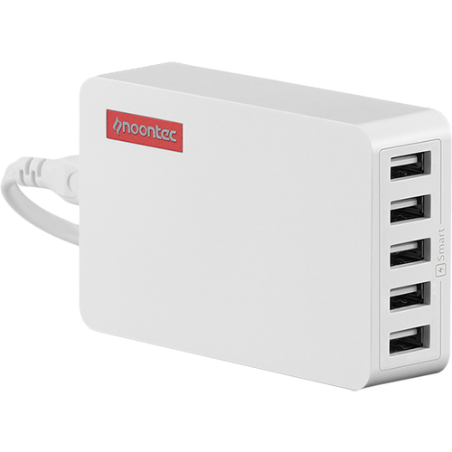 Incarcator Priza Powa Hub 25W cu 5 Porturi USB Alb APPLE iPhone 5s, Apple iPhone 6s