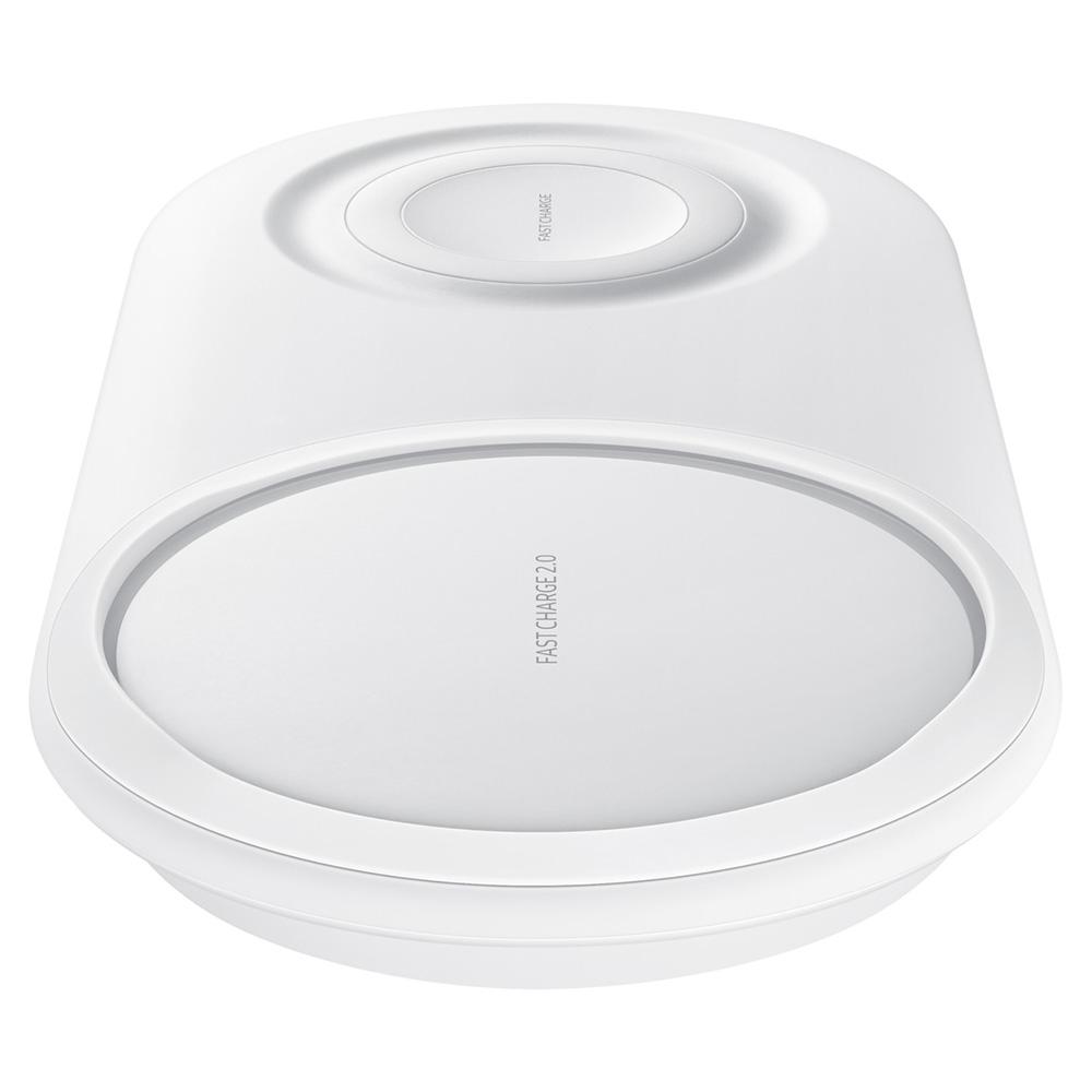 Incarcator Wireless Duo Pad Fast Charge Alb