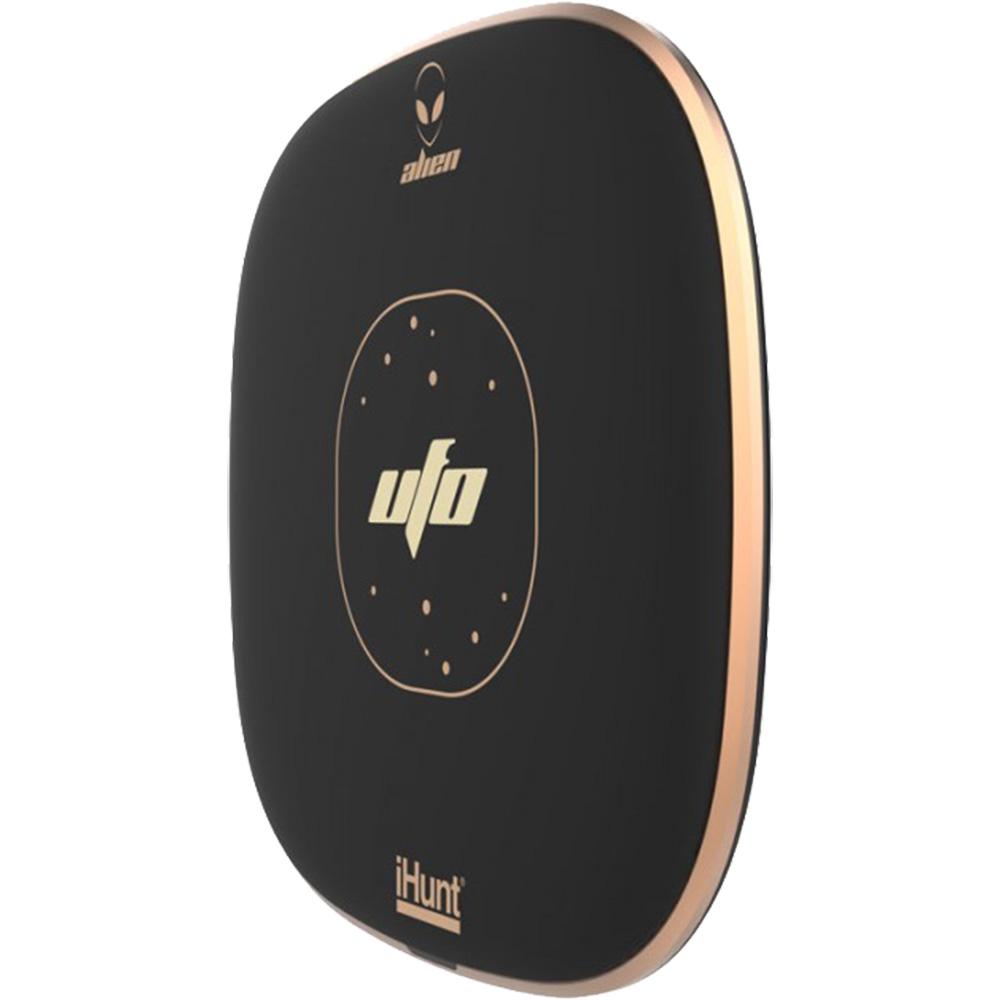 Incarcator Wireless UFO Cu Incarcare Rapida  Negru