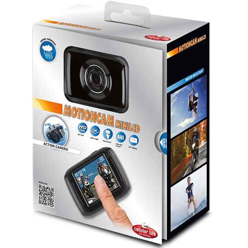 Mini Camera Video Sport Cu LCD WaterProof
