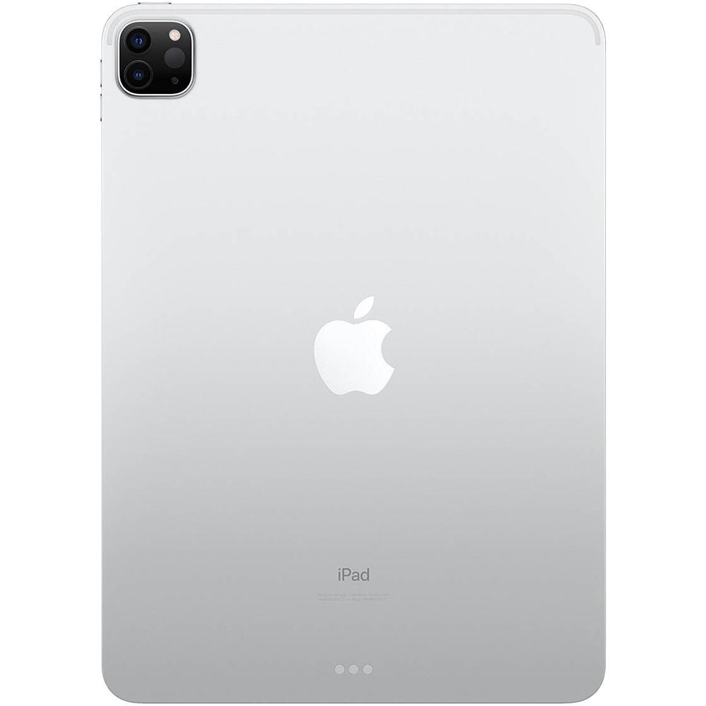 iPad Pro (2020) 11 inch, 128GB WiFi, 4G LTE, Argintiu, Silver - Apple