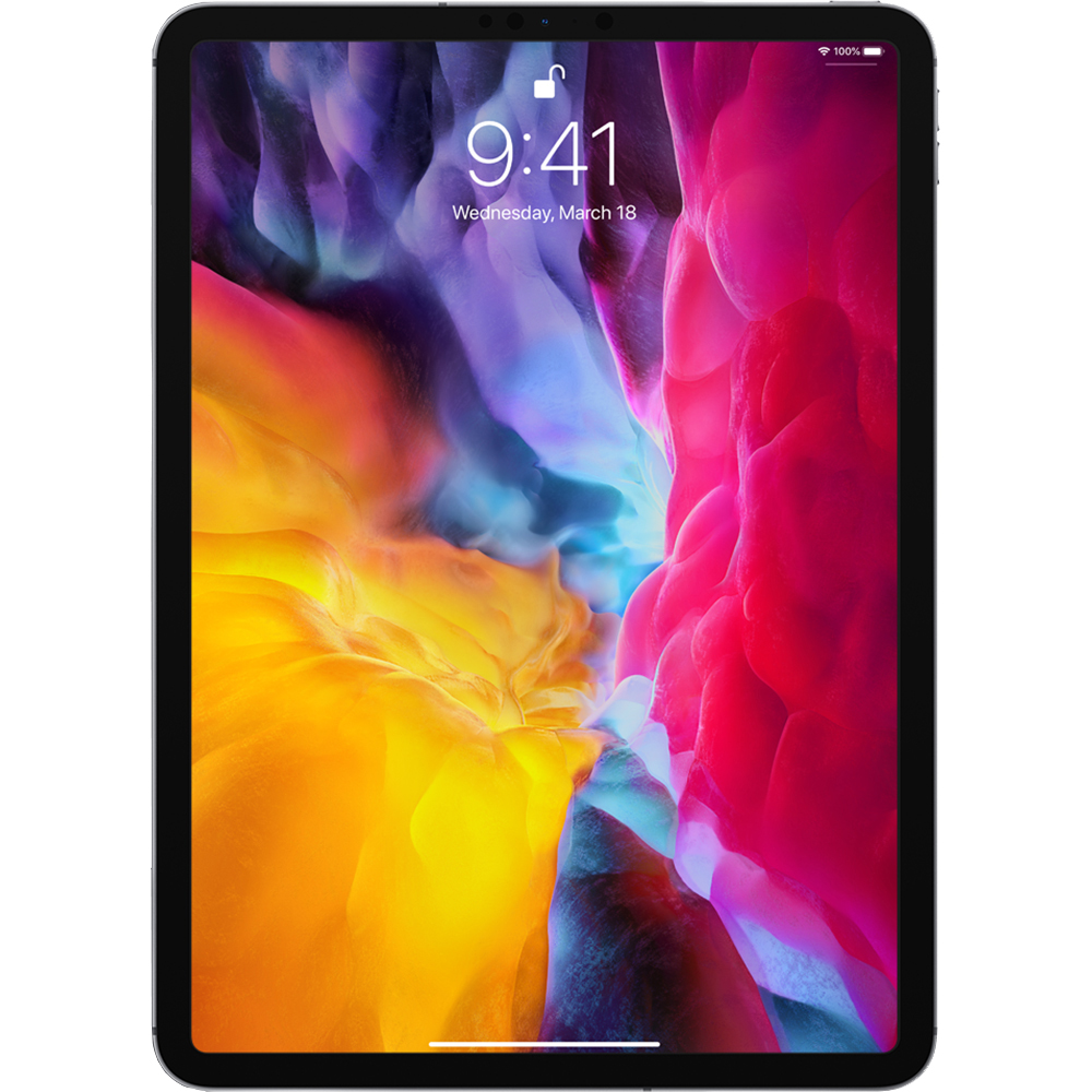 iPad Pro (2020) 11 inch, 128GB WiFi, 4G LTE, Negru Dark Grey - Apple