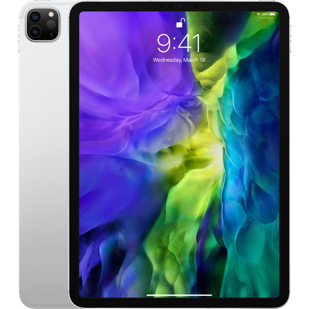 iPad Pro (2020) 11 inch, 256GB WiFi, 4G LTE, Argintiu Silver - Apple