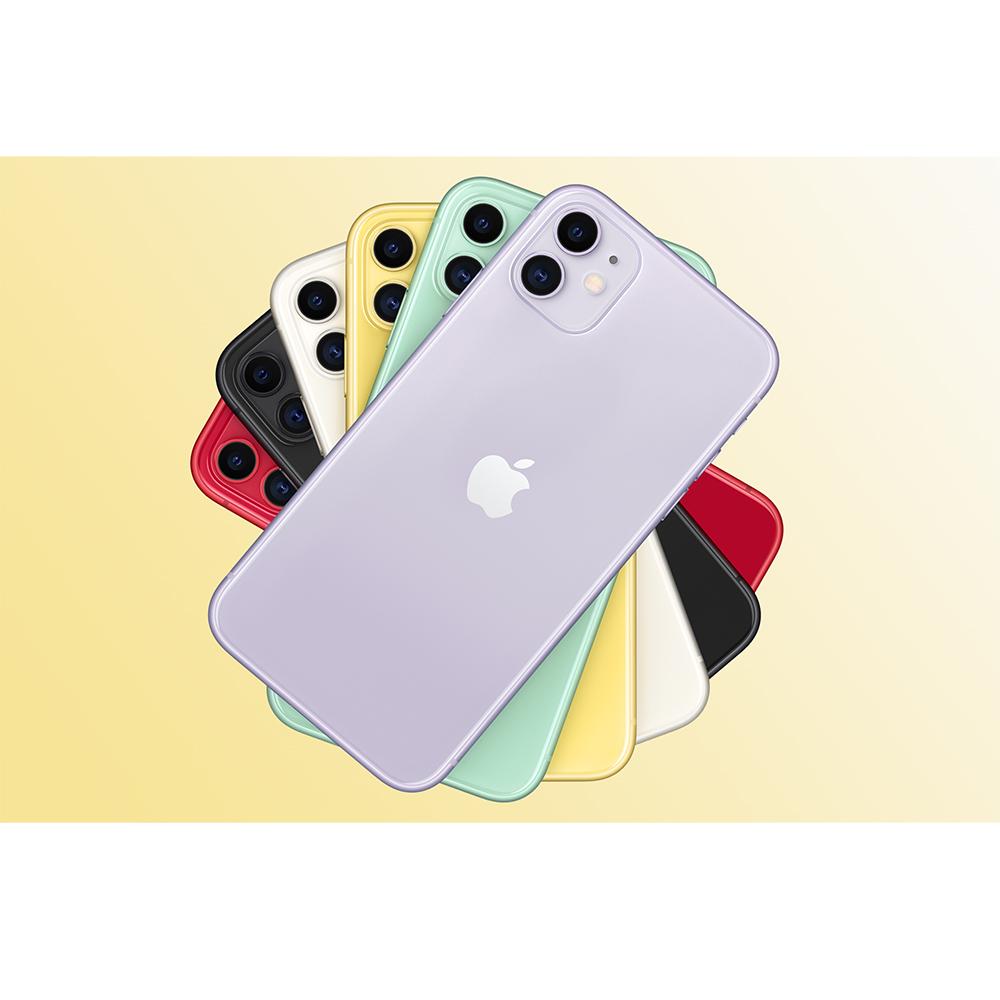 IPhone 11 Dual Sim eSim 128GB LTE 4G Alb 4GB RAM