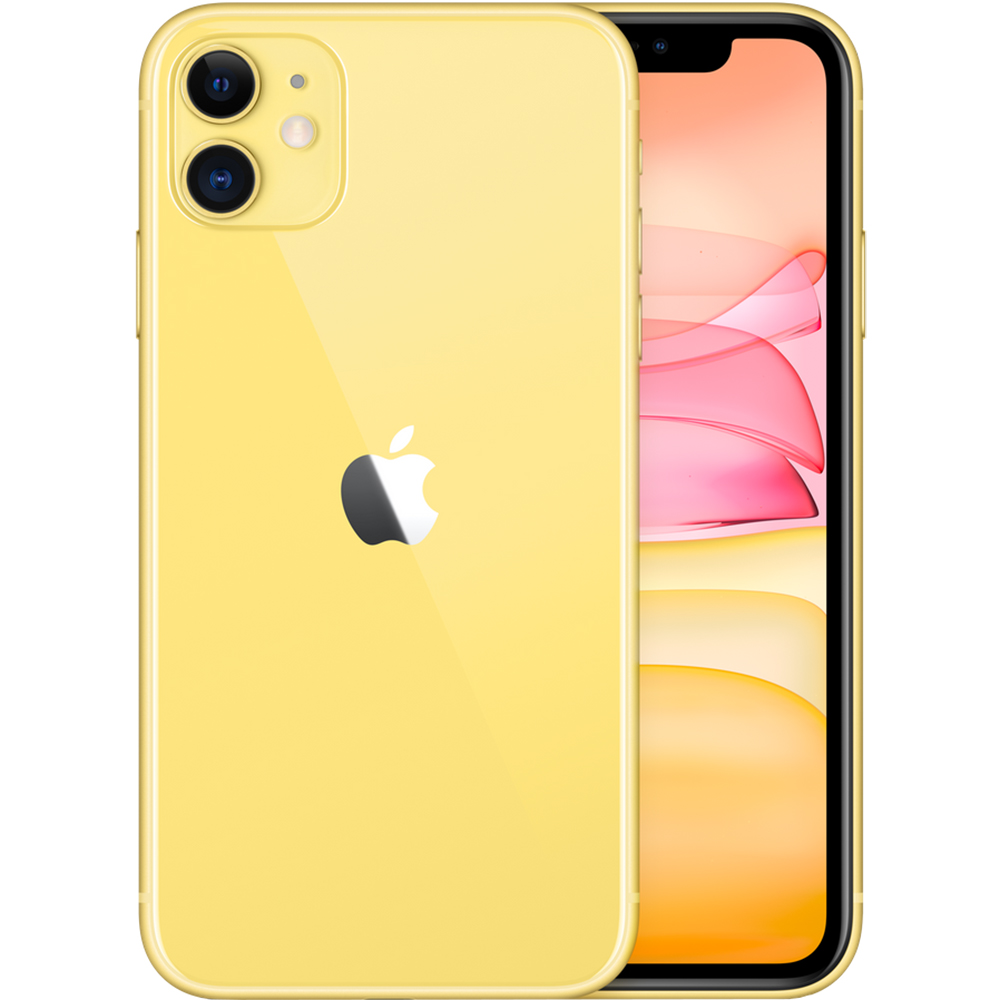IPhone 11 Dual Sim eSim 128GB LTE 4G Galben 4GB RAM