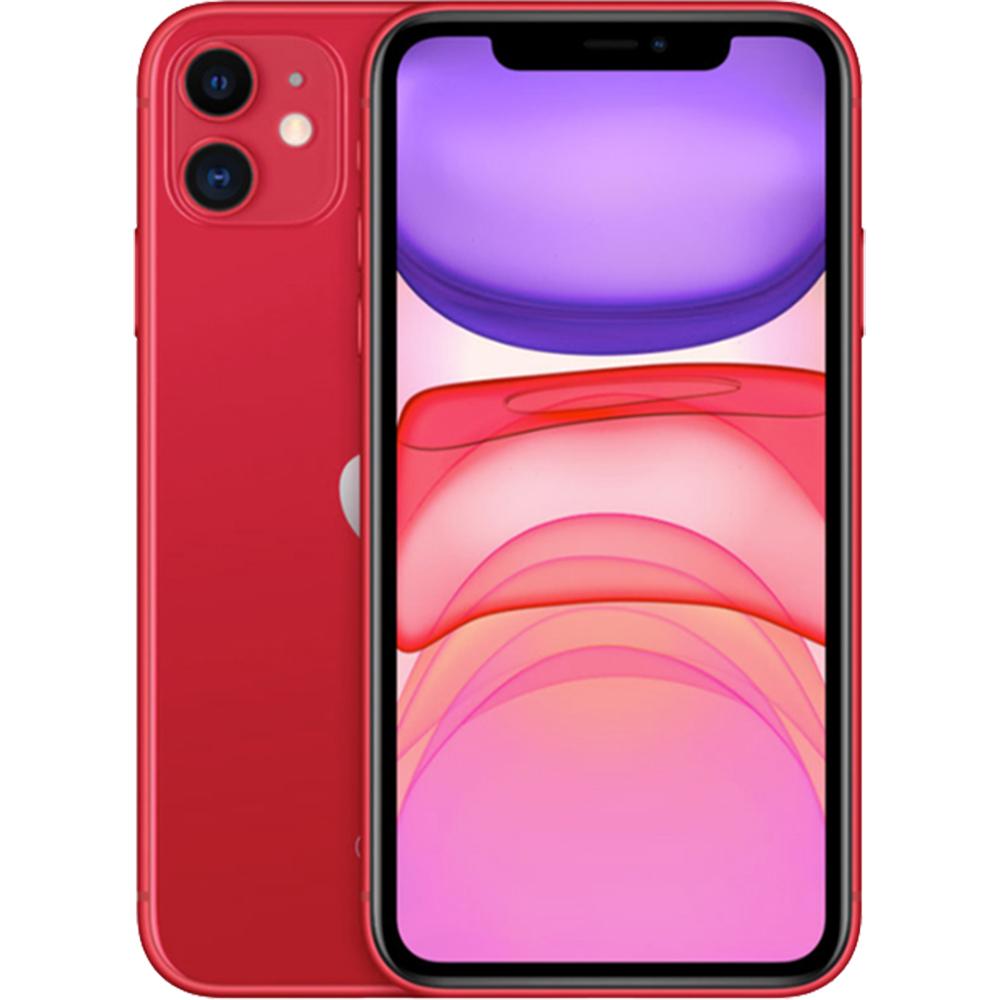 IPhone 11 Dual Sim eSim 64GB LTE 4G Rosu 4GB RAM