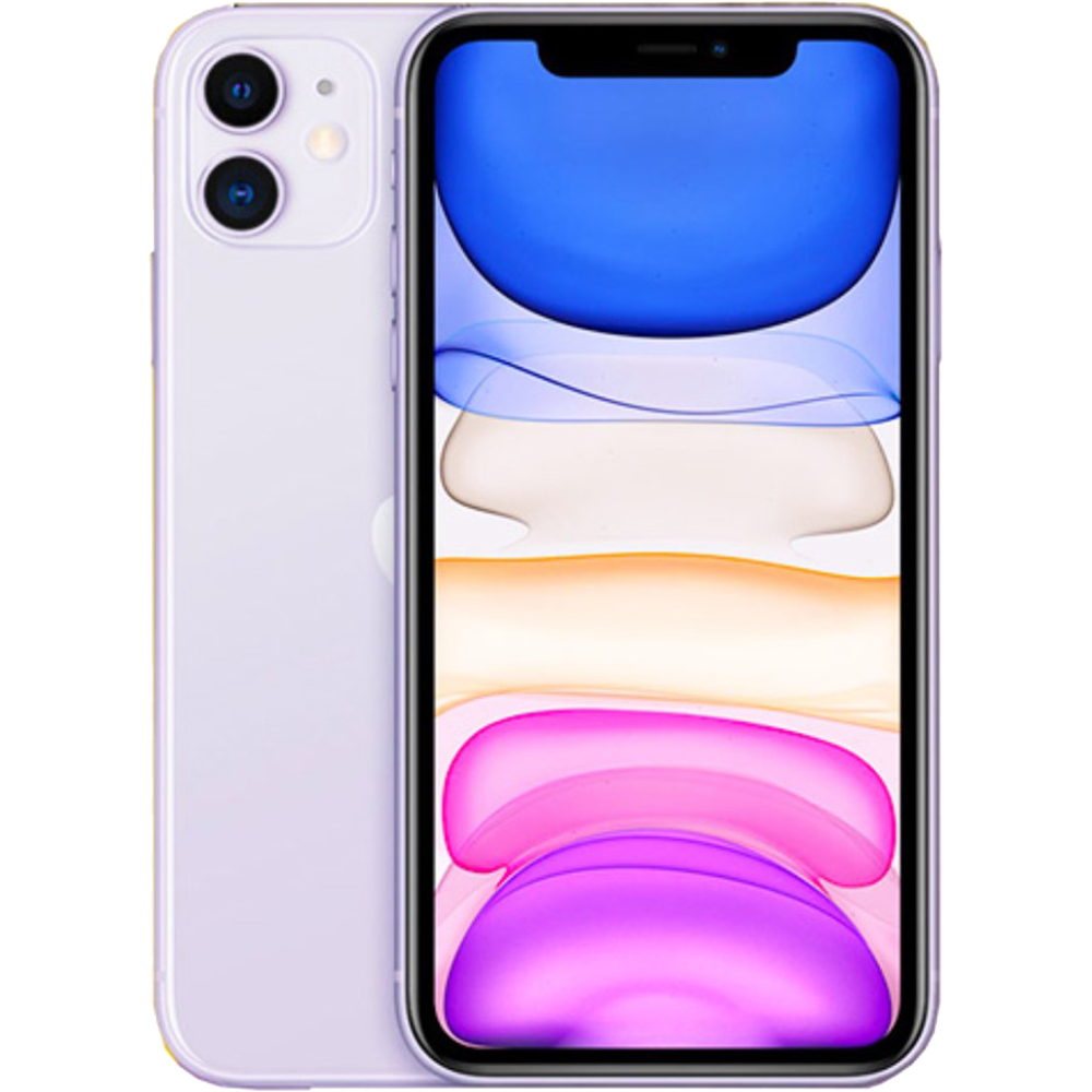 IPhone 11 Dual Sim 64GB LTE 4G Violet 4GB RAM
