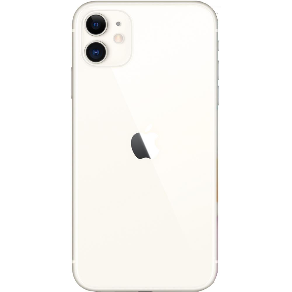 IPhone 11 Dual Sim Fizic 128GB LTE 4G Alb 4GB RAM