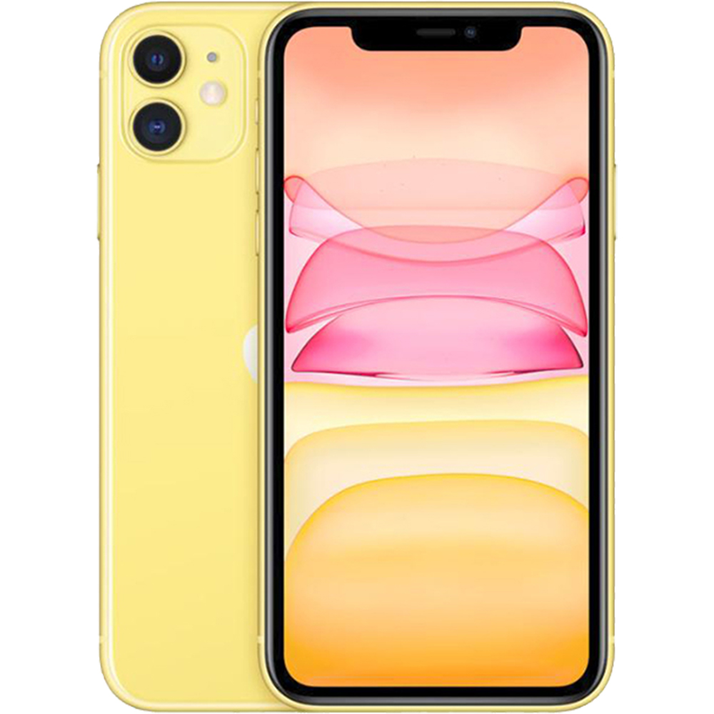 IPhone 11 Dual Sim 128GB LTE 4G Galben 4GB RAM