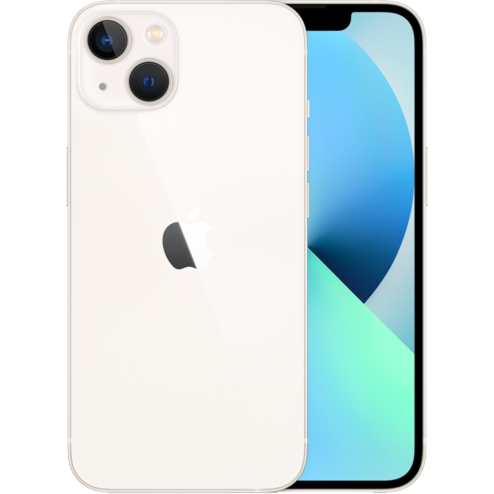 IPhone 13 Dual Sim Fizic 128GB 5G Alb Starlight