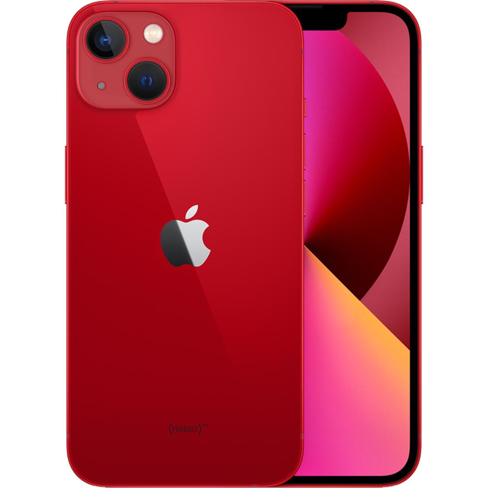 IPhone 13 Dual Sim Fizic 128GB 5G Rosu Product Red