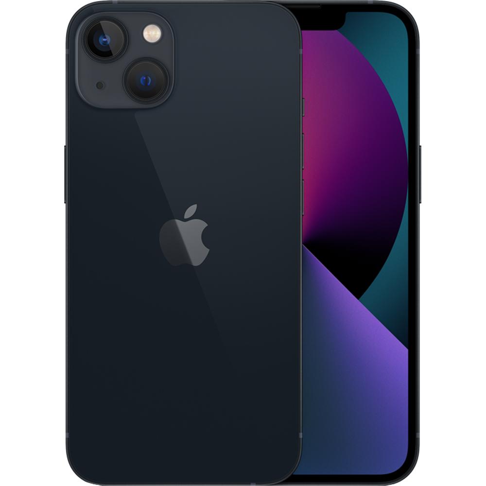 IPhone 13 Dual Sim Fizic 512GB 5G Negru Midnight