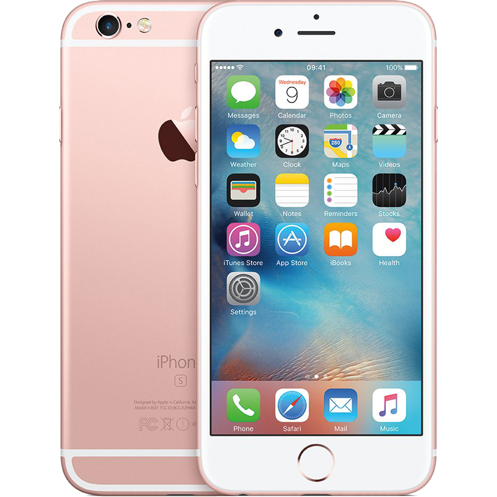 IPhone 6S 128GB LTE 4G Roz Factory Refurbished
