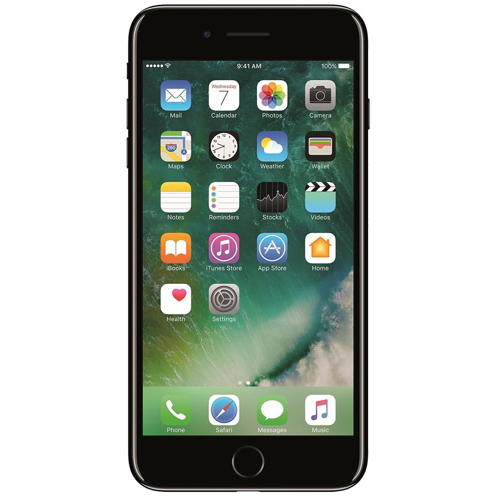 IPhone 7 Plus   128GB LTE 4G Jet Factory Refurbished 3GB RAM