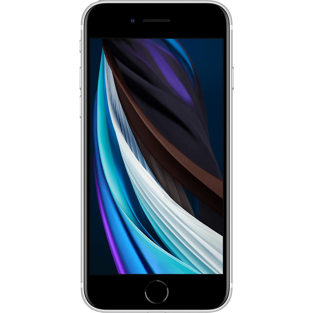 IPhone SE 2020 Dual Sim eSim 128GB LTE 4G Alb 3GB RAM