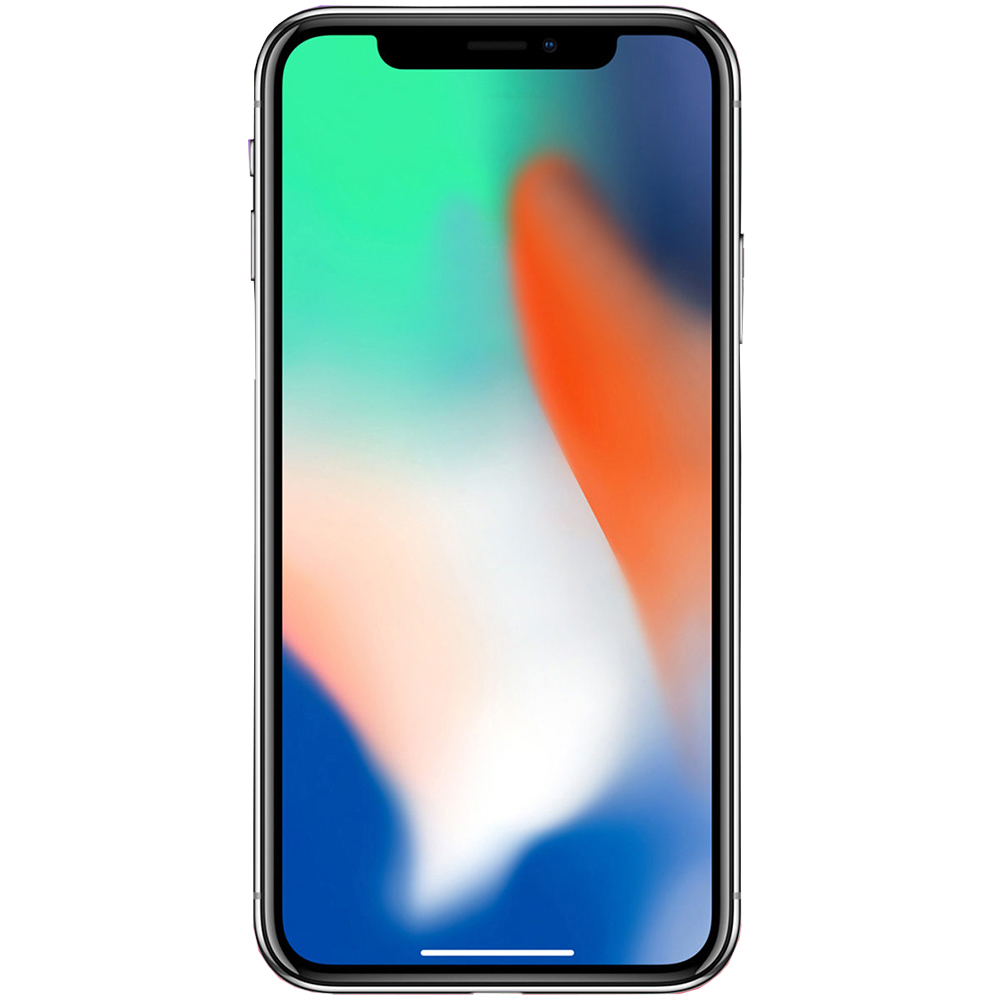 IPhone X 64GB LTE 4G Argintiu Factory Refurbished 3GB RAM
