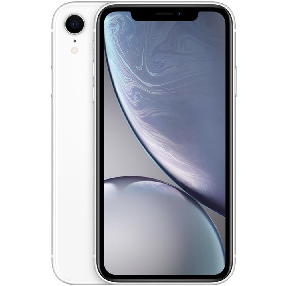 IPhone XR Dual Sim 256GB LTE 4G Alb 3GB RAM