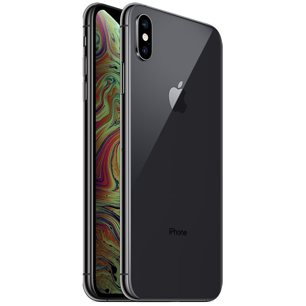 IPhone Xs Max Dual Sim eSim 256GB LTE 4G Negru 4GB RAM Reconditionat A