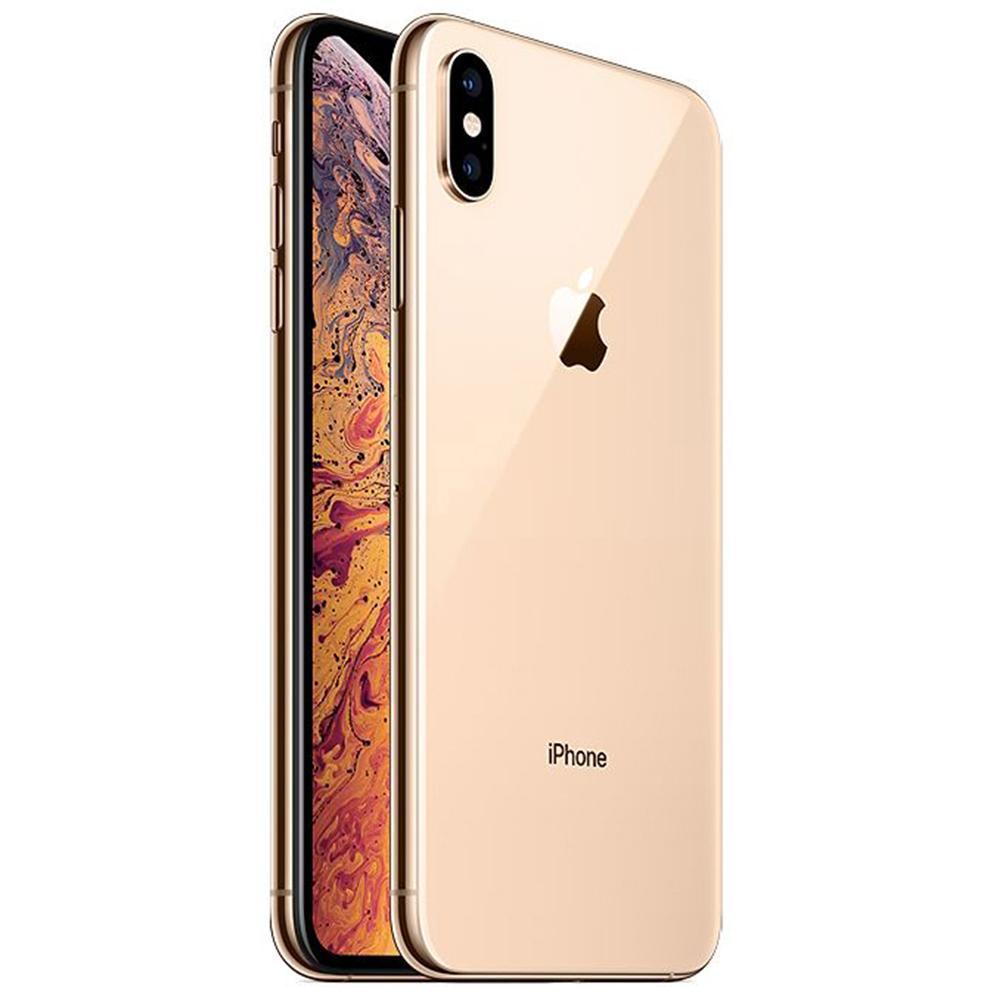 IPhone Xs Max Dual Sim eSim 512GB LTE 4G Auriu 4GB RAM Reconditionat A+