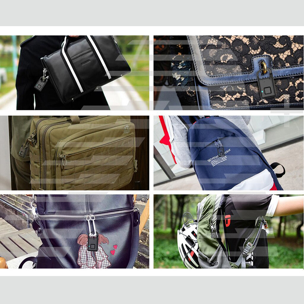 Lacat Inteligent Cu Senzor De Amprenta Interior/exterior model P5
