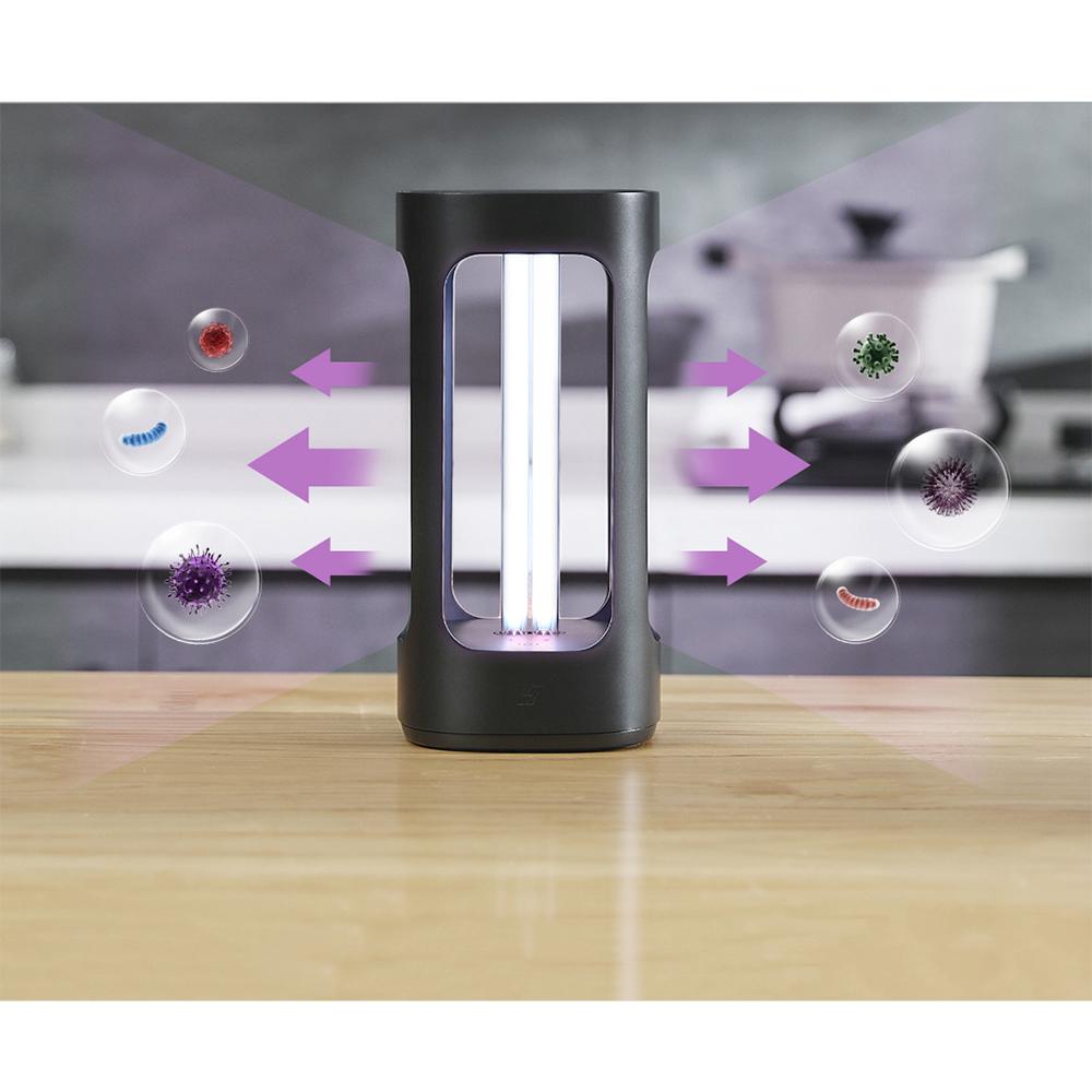 Lampa UVC Bactericida / Virucida, Dezinfectare si Sterilizare Incaperi si Obiecte cu Ultraviolete UV-C, model Five Smart