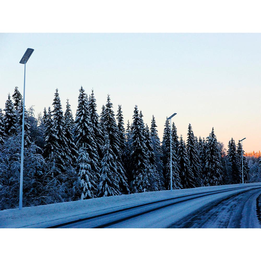 Lampa Stradala Cu Incarcare Solara 80W