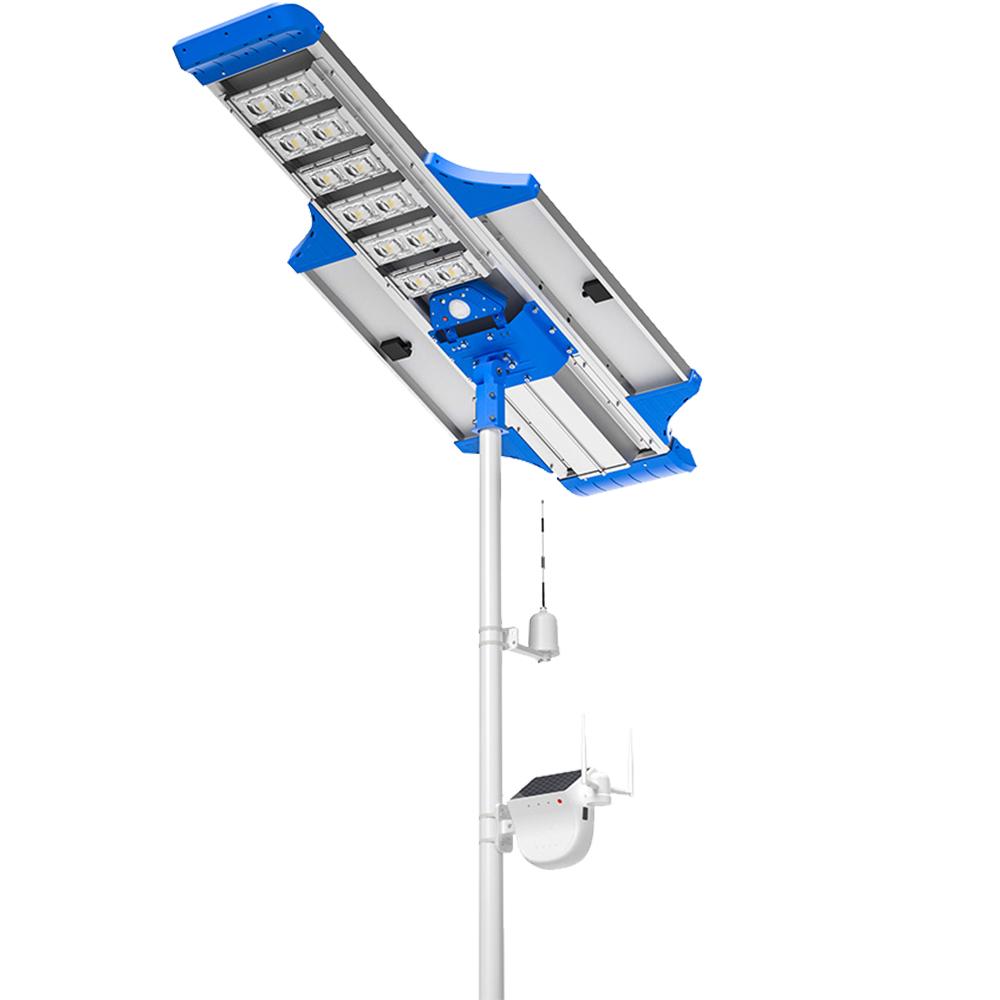 Lampa Stradala Cu Incarcare Solara Elite 80W