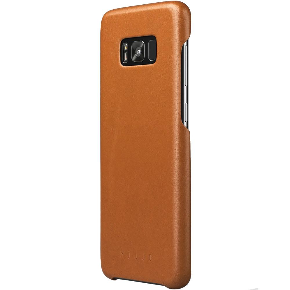 Husa Capac Spate Piele Maro SAMSUNG Galaxy S8 Plus