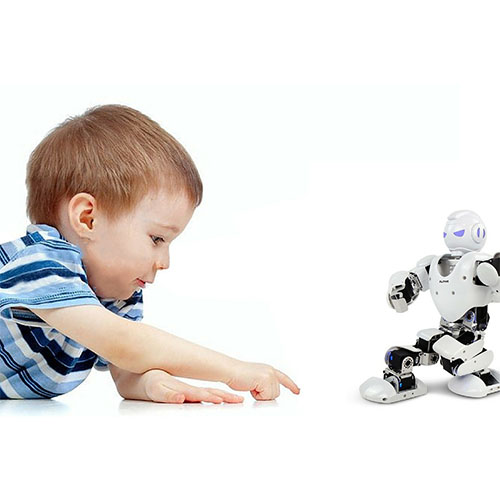 ALPHA 1 Pro Robot Inteligent Umanoid Interactiv Bluetooth