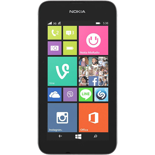 Lumia 530 4gb argintiu